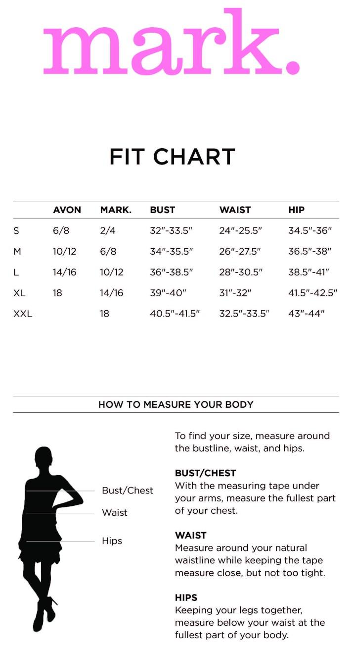 mark-Size-Chart