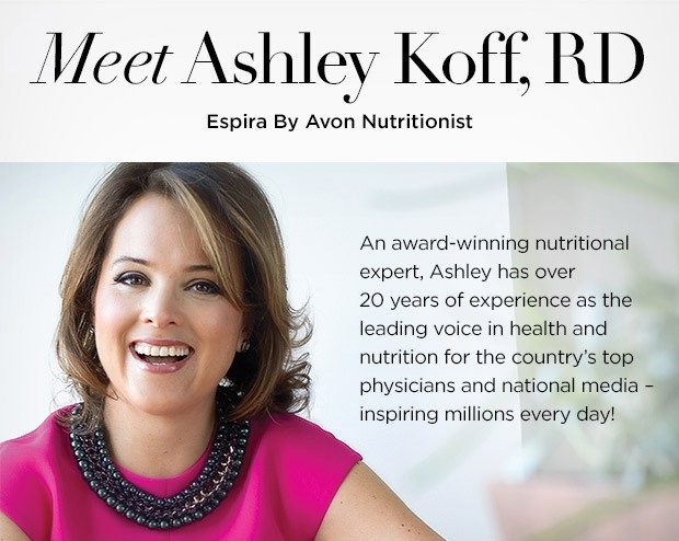 Meet The Espira Nutritionist, Ashley Koff, RD
